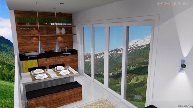 modelo de casa com 3 quartos churrasqueiras modernas
