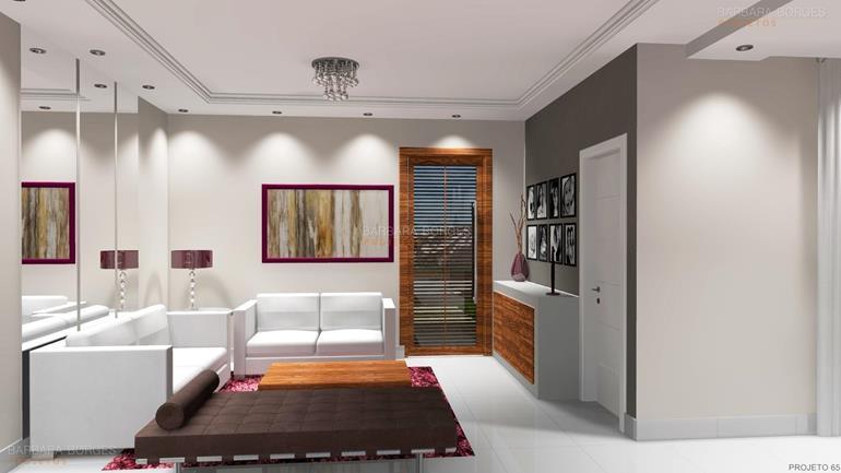 modelo de casa moderna conjunto sala jantar