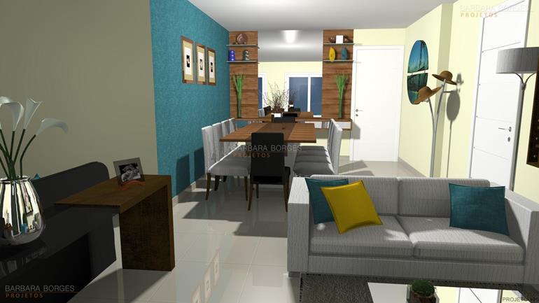 moveis decorados conjunto sala jantar