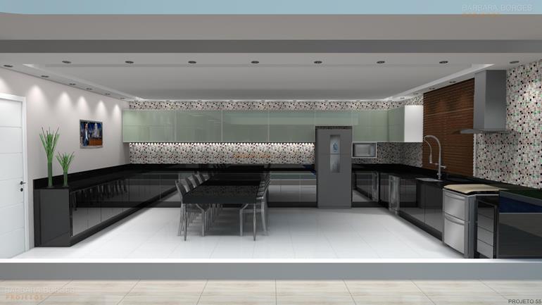 moveis planejados cozinha pequena cosinhas projetas 3D