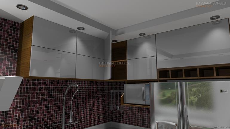 moveis planejados para apartamento pequeno cozinha aço