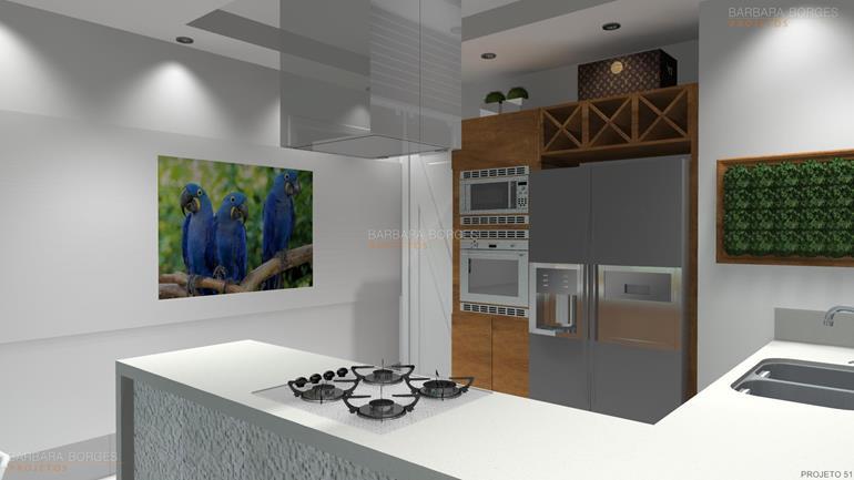 moveis planejados new cozinha americana