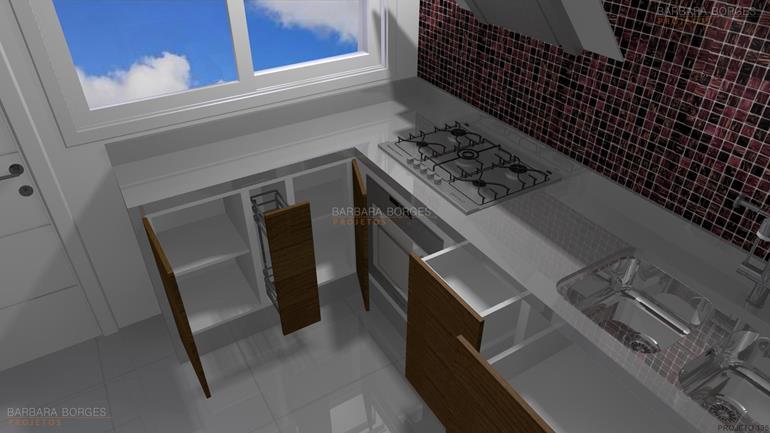 Cozinha americana planejada barbara borges projetos for Sala de estar pequena con escritorio