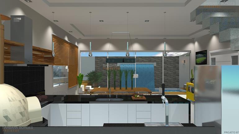 projetar moveis cozinha americana planejada