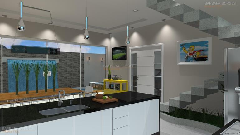 projeto cozinha americana cozinha bertolini