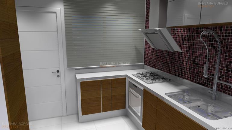 papel de parede quarto de menina cozinha compacta