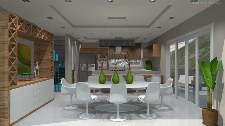 projeto de cozinha planejada cozinha compacta