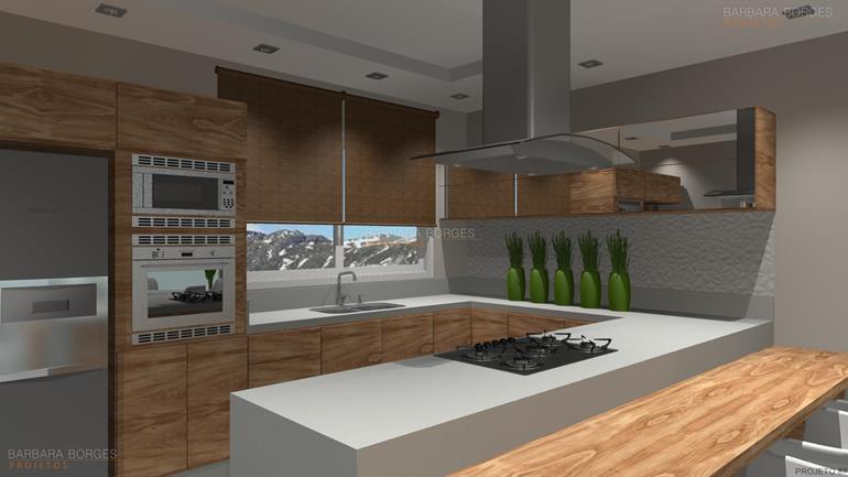 projetos de interiores cozinha completa itatiaia