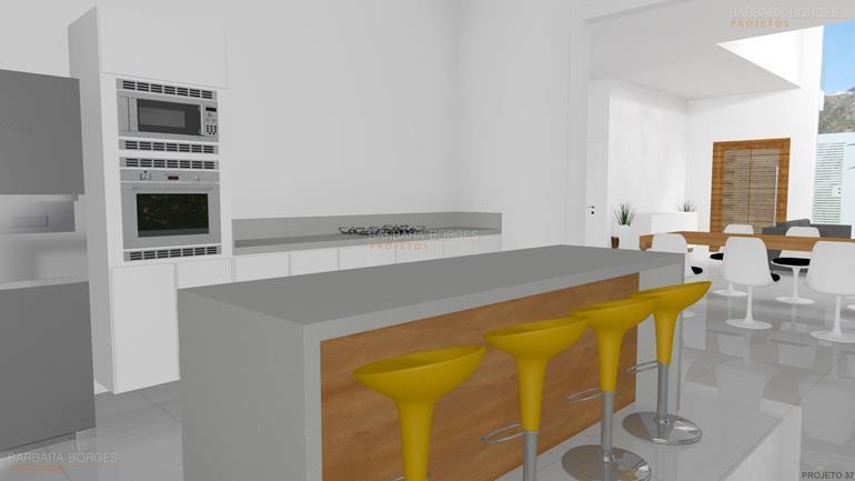 projeto cozinha americana cozinha decorada