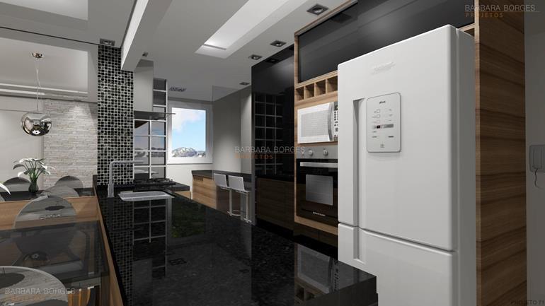 projeto de quarto cozinha decorada