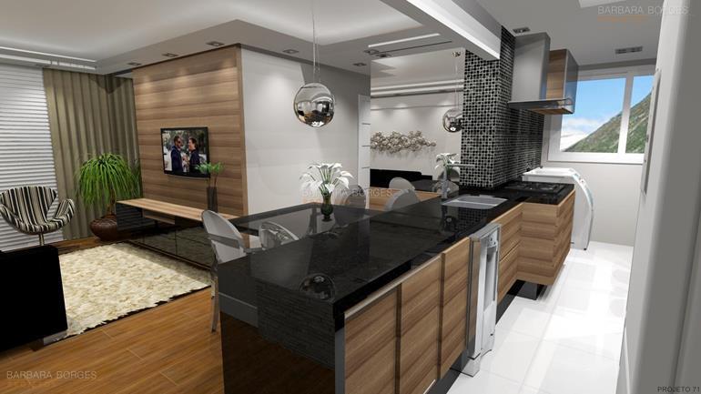 projetos de interiores cozinha itatiaia completa