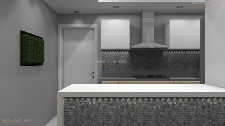 projetos de interiores cozinha modulada