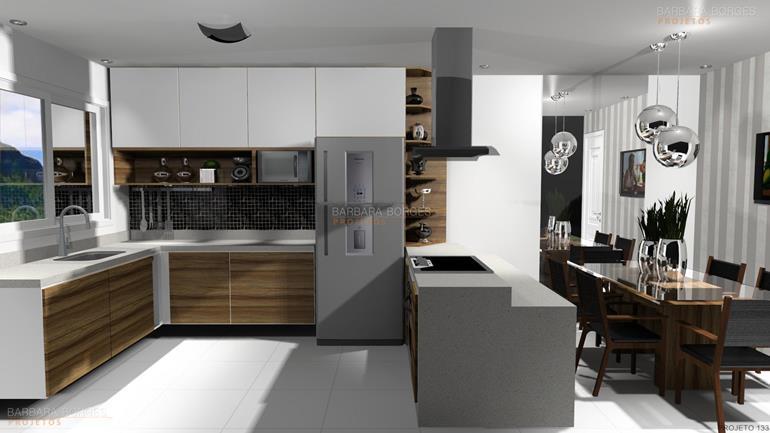 projeto cozinha pequena cozinha padrao