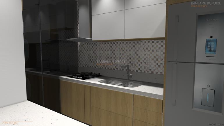 projetos de area de lazer cozinha padrao