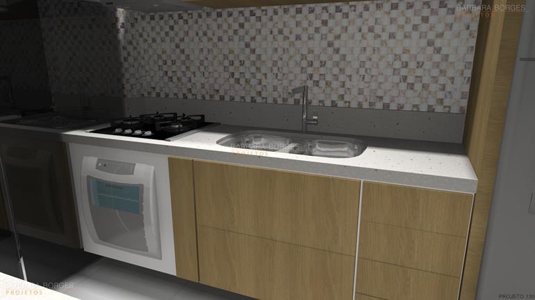 projetos de interiores cozinha pequena