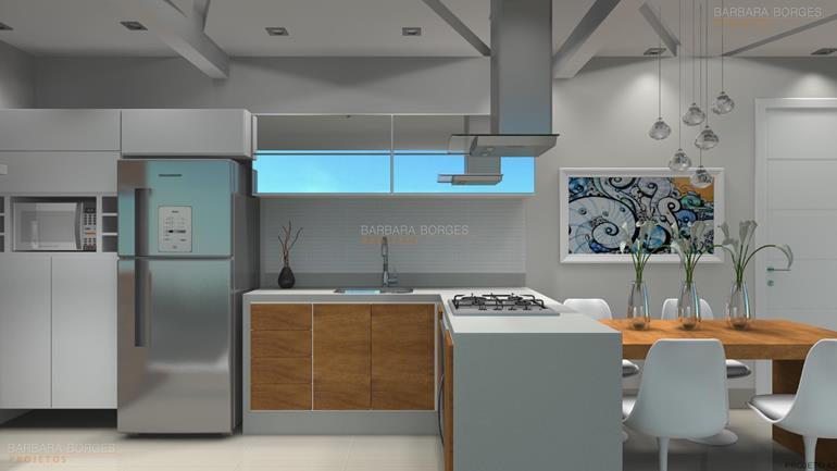 projeto cozinha americana cozinha pequena planejada