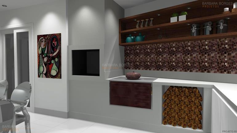 quartos decorados casal cozinha planejada americana