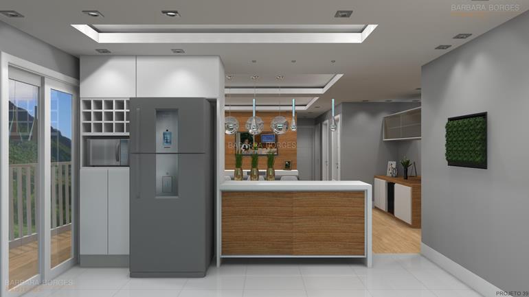 quarto de menino e menina juntos cozinha planejada apartamento