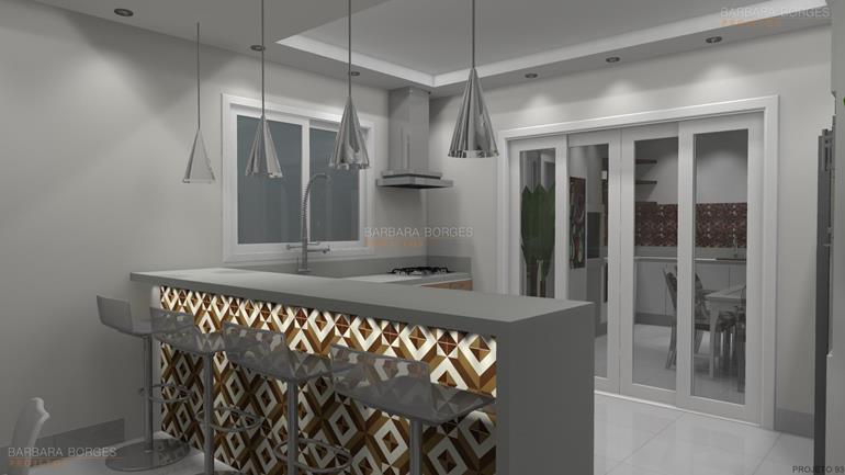 cozinha planejada apartamento pequeno