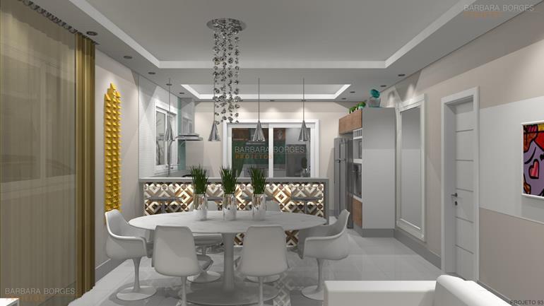 salas decoração cozinha planejada preço