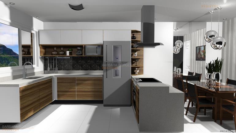 quarto para casal cozinha planejadas
