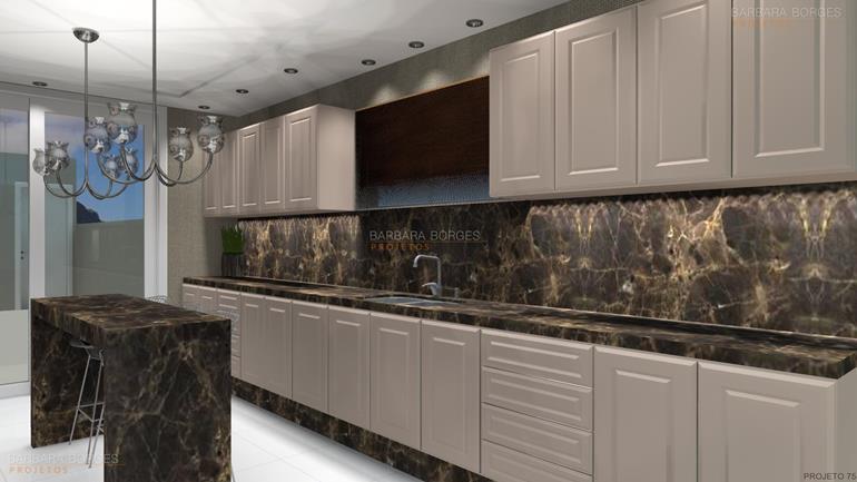 salas decoração cozinha projetada