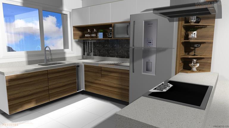 Armario De Cozinha Sob Medida Rj : Cozinha sob medida barbara borges projetos