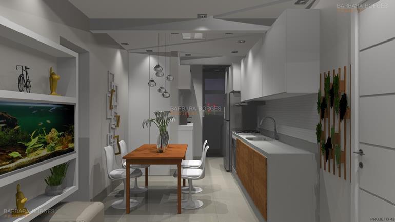 sala de jantar e estar cozinha todeschini