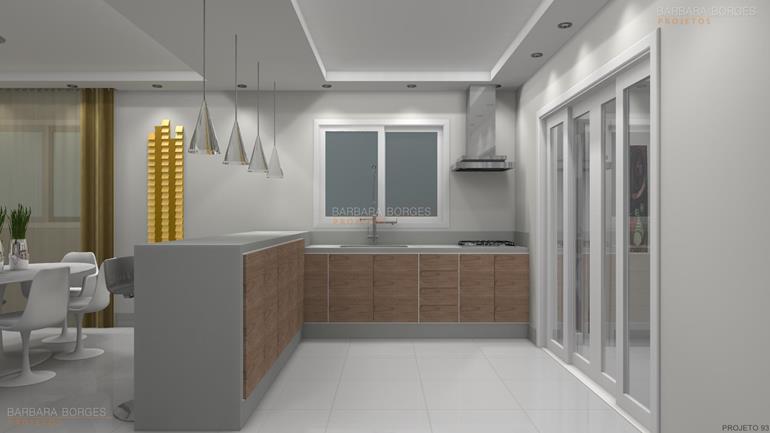 reforma de sala cozinhas aço