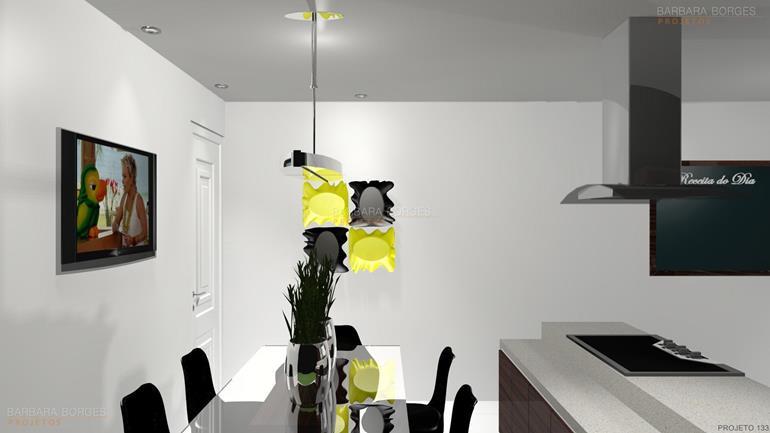 quartos decorados casal cozinhas americanas