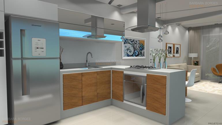 projeto casas pequenas cozinhas bertolini
