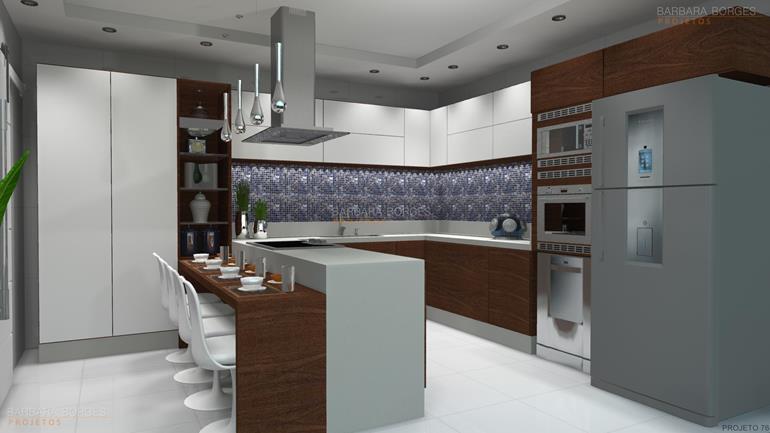 projeto em 3d cozinhas colormaq