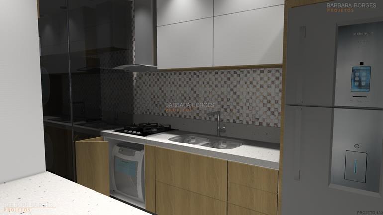 salas decoração cozinhas compactas