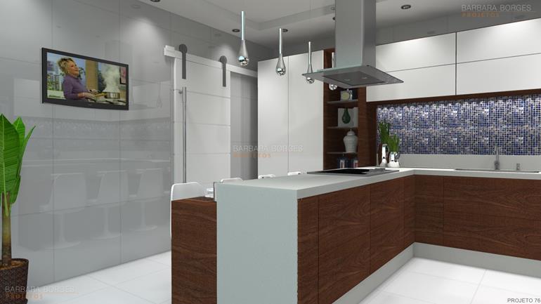 projeto de restaurante cozinhas compactas