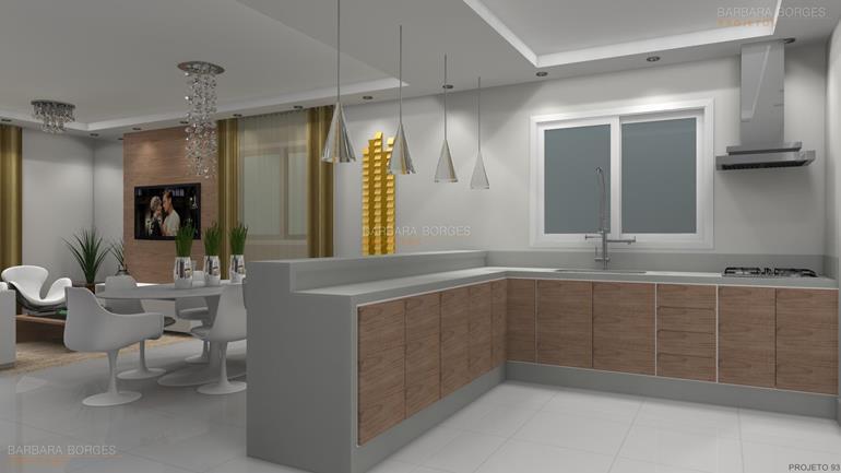 construir casa em 3d cozinhas compactas