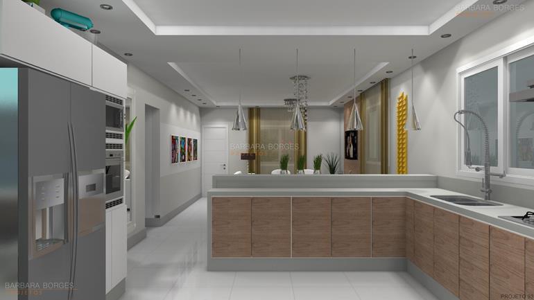 Decoraçao Para Apartamento cozinhas decoradas