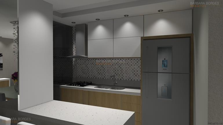 projetos de kitinetes cozinhas kappesberg