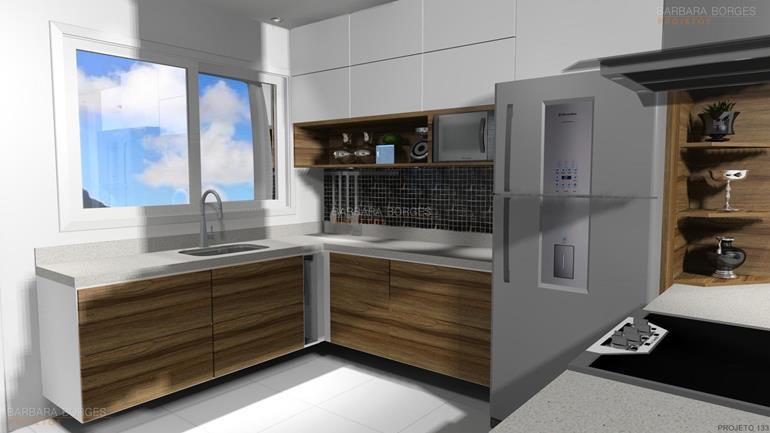 projeto em 3d cozinhas kappesberg
