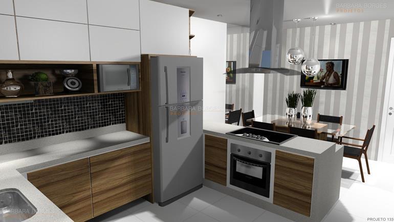 projeto de restaurante cozinhas modernas