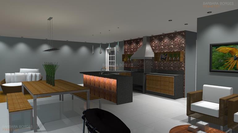 construir casa em 3d cozinhas modernas