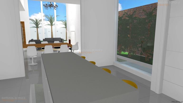 projeto casas pequenas cozinhas moduladas