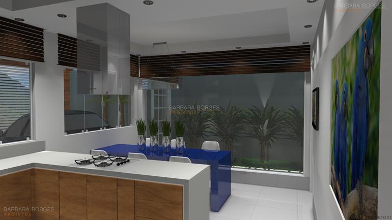 Decoraçao Para Apartamento cozinhas pequenas