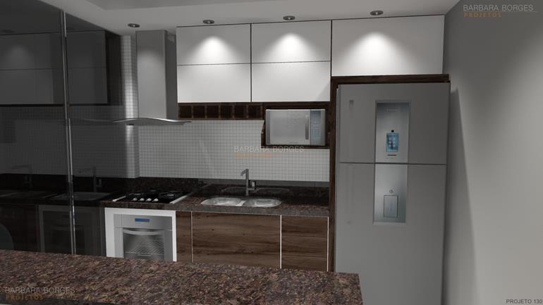 fachada de casas terreas cozinhas planejada