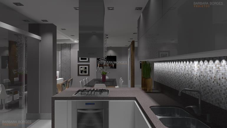 projeto em 3d cozinhas planejadas
