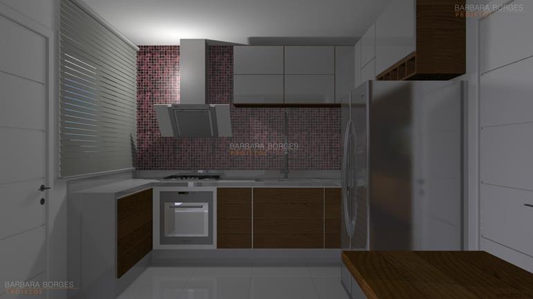 Decoraçao Para Apartamento cozinhas planejadas