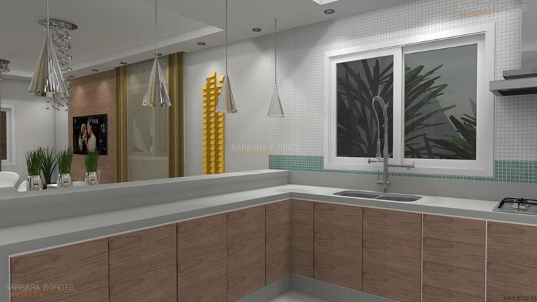 áreas de lazer cozinhas planejadas
