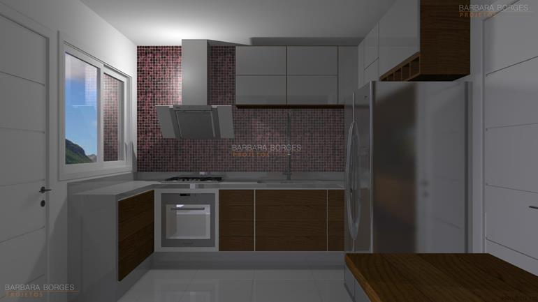 reforma da cozinha cozinhas planejadas apartamentos pequenos