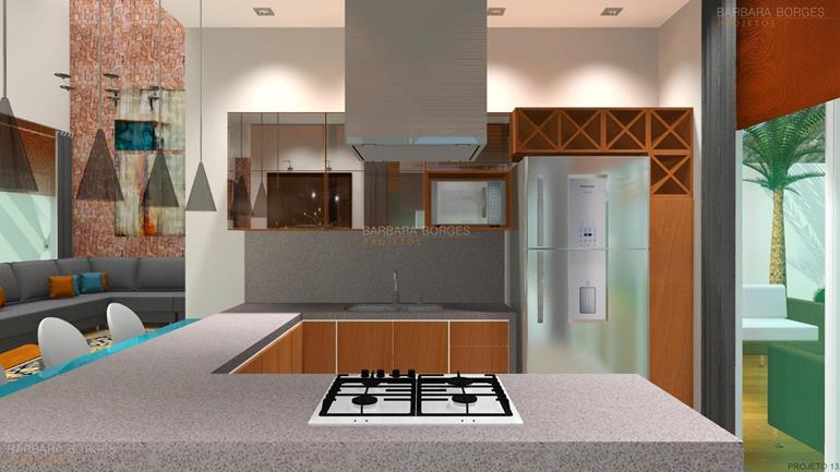 Decoraçao Para Apartamento cozinhas planejadas fotos