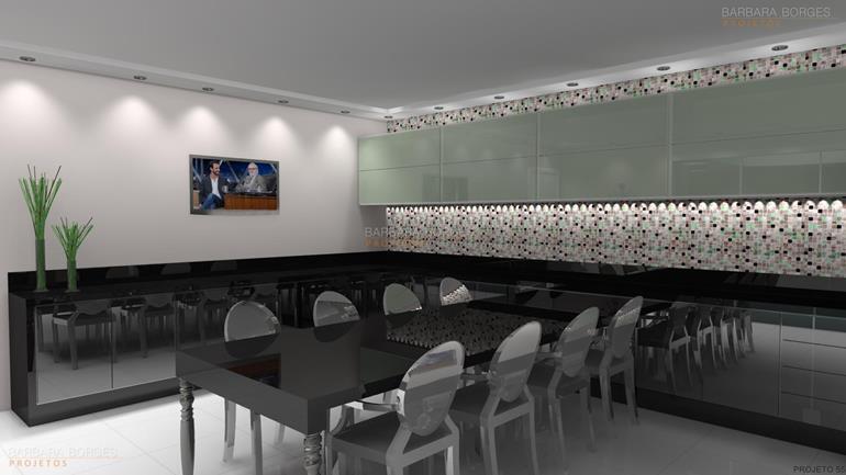 armario de cozinha preto e branco cozinhas todeschini