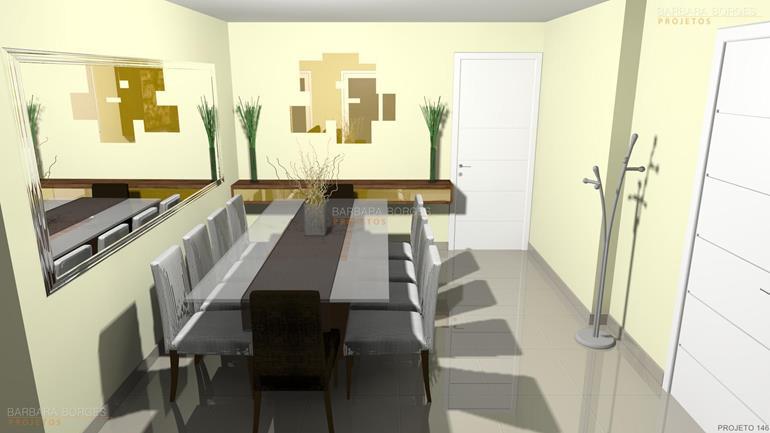 armarios de parede decoração apartamento pequeno